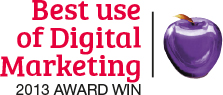 Best Use of Digital Marketing award win