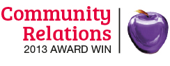 Community Relations 2013 Award Win