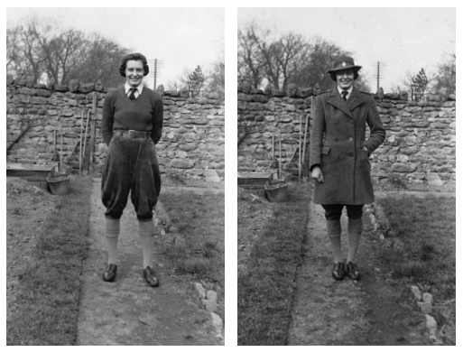 barbara-holmes-in-womens-land-army-uniform